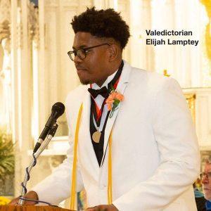 2019 Valedictorian Elijah Lamprey