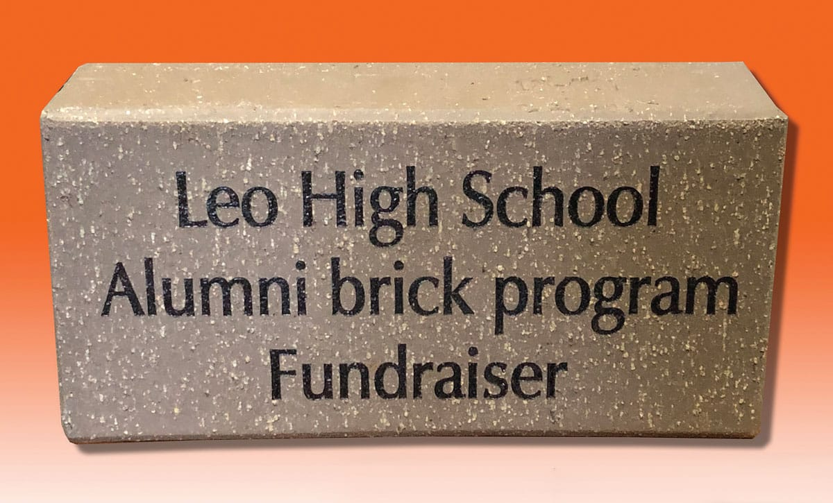 Leo High School Alumni Brick Program Fundraiser