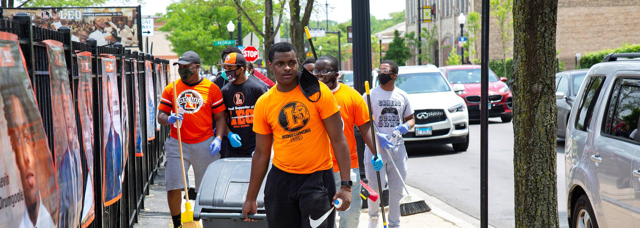 After a rough weekend, our young men help to bring Auburn-Gresham back to life