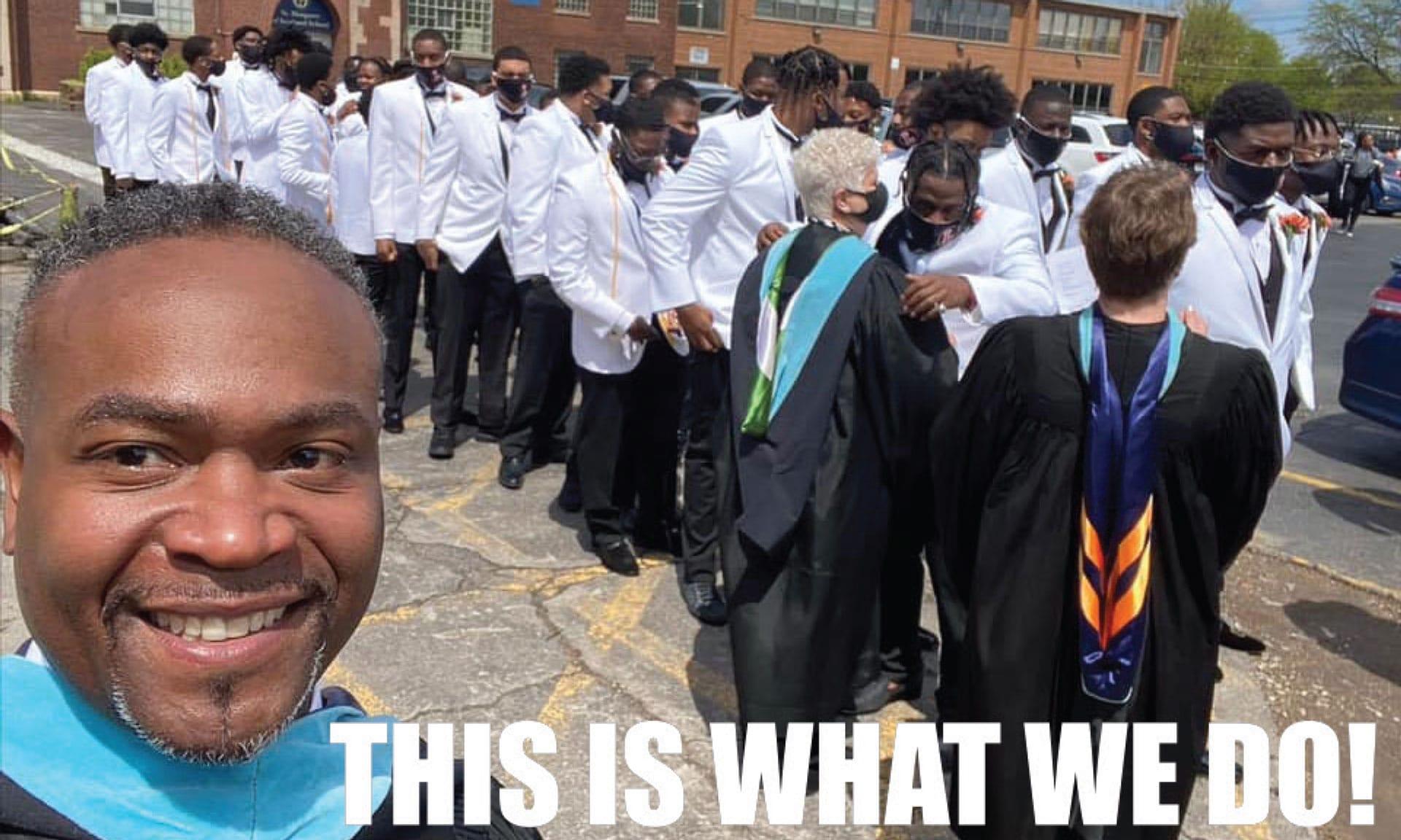 Leo students graduating
